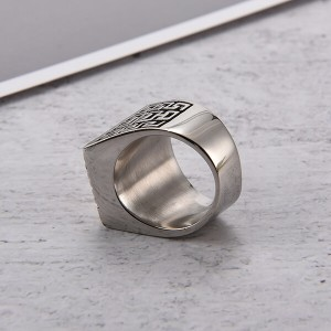 Vintage Mens Ring Silver Filled Cz Engagement Wedding Jewelry Gift