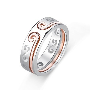 Unique Design Two-in-One Couple Ring Monkey King Curse Rings