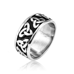 Hot Sell Custom Design Cheap Jewelry Vintage Stainless Steel Rings