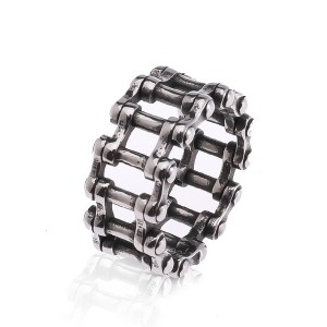 Geometry Hollow Out Ring Men's Band Eternity Ring Silver Promise Ring for Men Women Fashion Jewellery