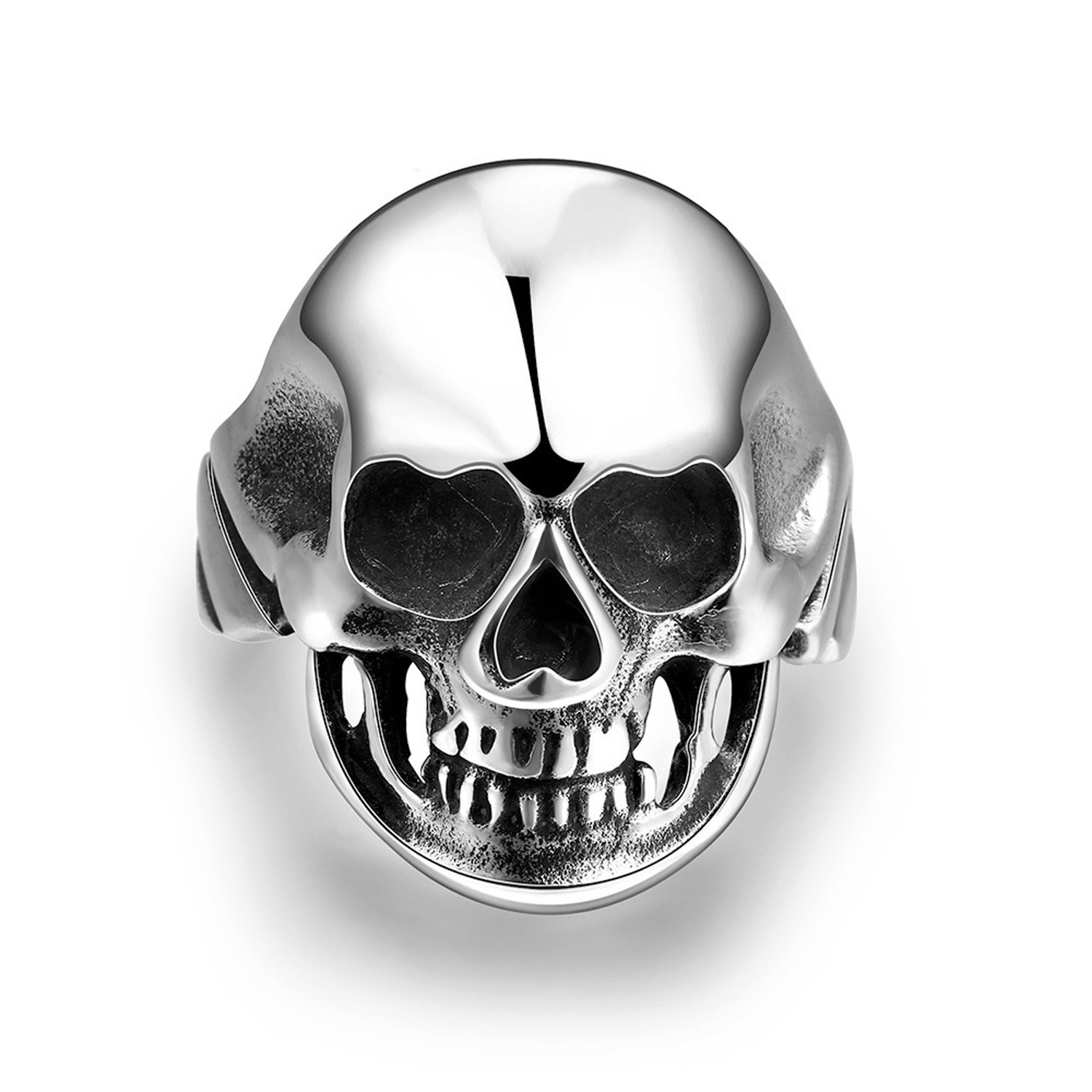 Hot Sale Vintage Ring Creative Skull Head Men's Jewelry Featured Image