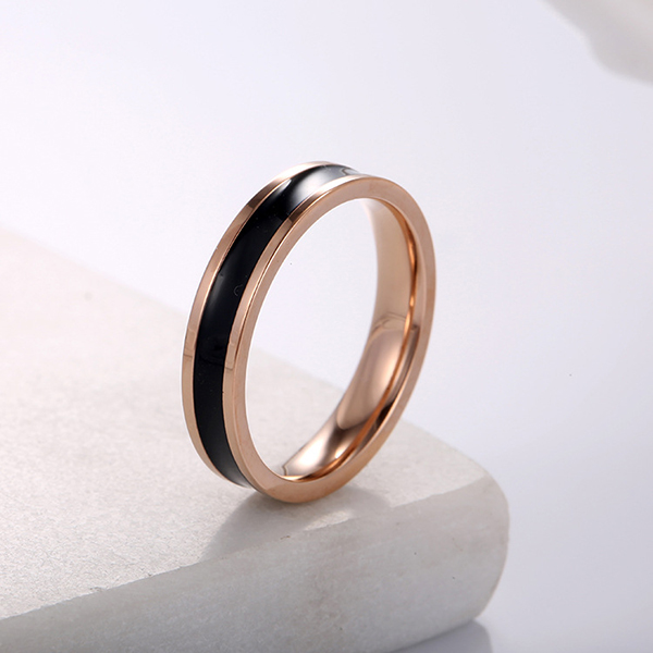 Good Quality Are Tungsten Rings Magnetic - Freshing Lady Essential Accessories Small Titanium Spinner Rings – Ouyuan