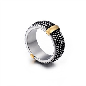 Personality Creative Stainless Steel Titanium Forged Ring
