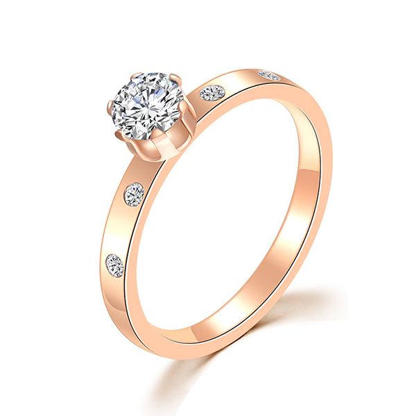 New Design Full Diamond Shape Hollow Ring Jewelry for Women Featured Image
