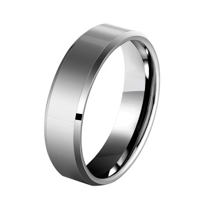 Fast delivery 2 Tungsten Carbide Rings - Men's 4mm/5mm/6mm/7mm/8mm Tungsten Carbide Ring Polished Plain Comfort Fit Wedding Engagement Band – Ouyuan