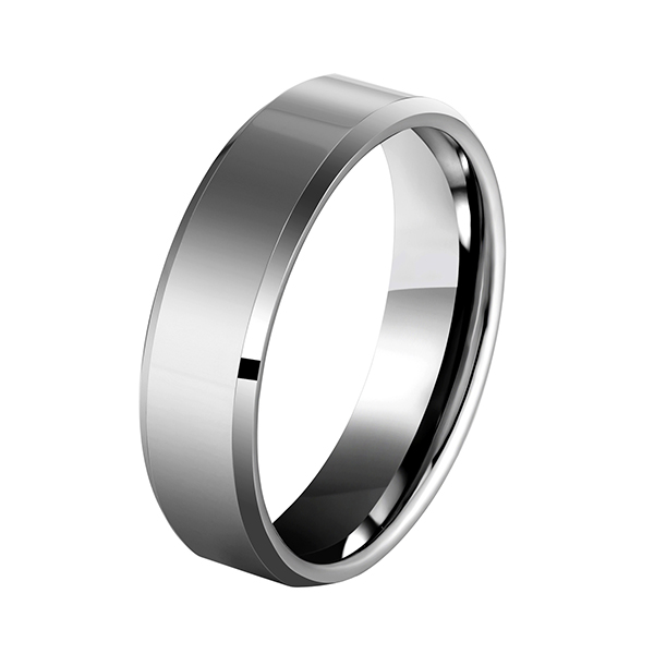 Special Design for Will Tungsten Rings Rust - Men's 4mm/5mm/6mm/7mm/8mm Tungsten Carbide Ring Polished Plain Comfort Fit Wedding Engagement Band – Ouyuan