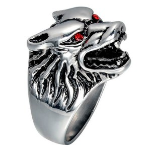 Stainless Steel Sugar Day Of The Dead for Men Women Gothic Mens Jewelry Biker Cool Ring