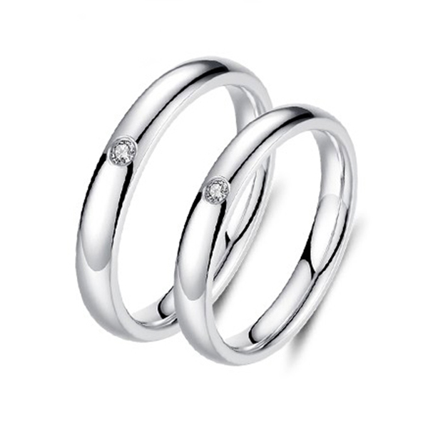 in Gift Box size 12 Details about  /White CERAMIC Ring with Brushed Gold Plated Bands