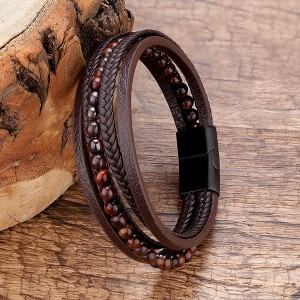 New Delivery for Ceramic Wedding Bands - Men Bracelet – Ouyuan
